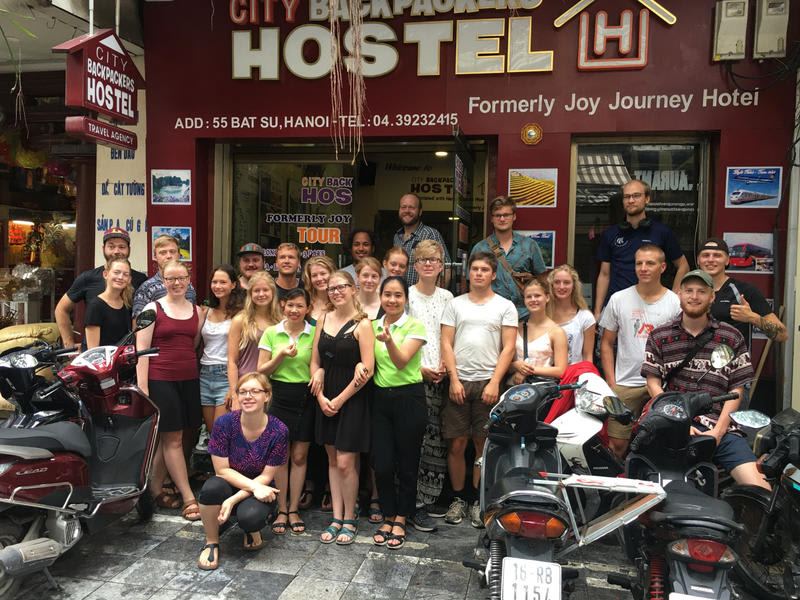 HOSTEL - Hanoi City Backpackers Hostel