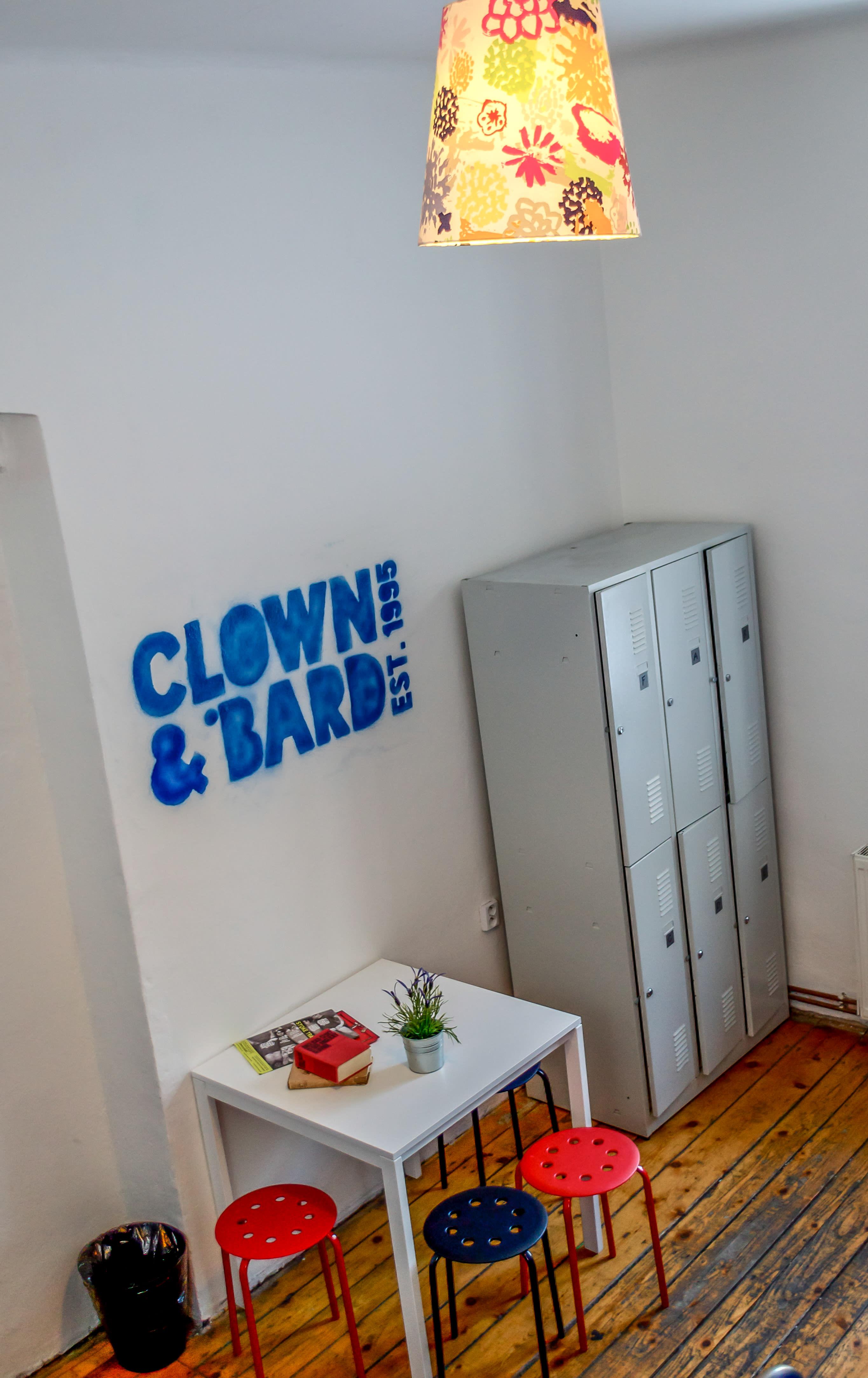 Clown and Bard
