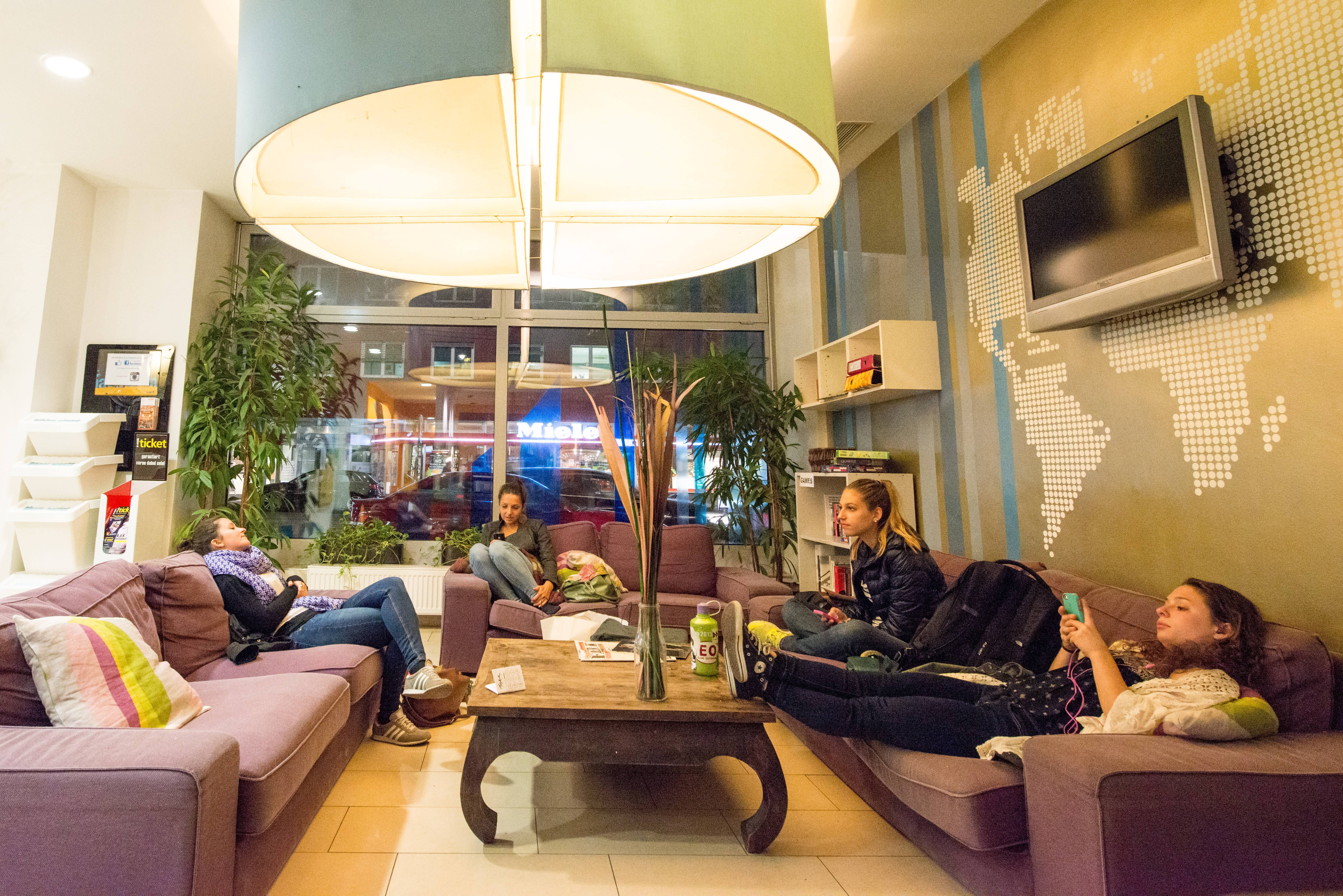 Wombats City Hostel Vienna - The Lounge