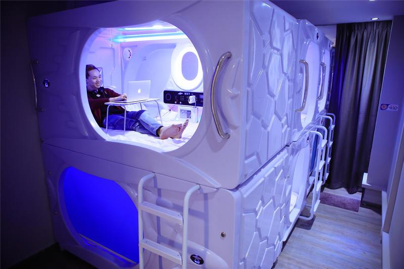 HOSTEL - MET A Space Pod