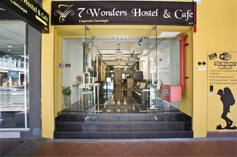 HOSTEL - 7 Wonders Capsule Hostel
