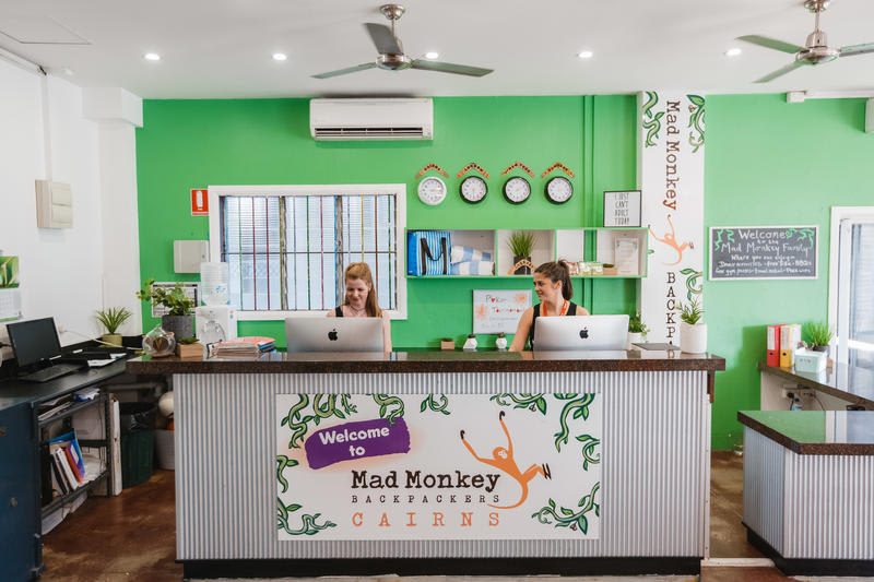 HOSTEL - Mad Monkey Backpackers Cairns
