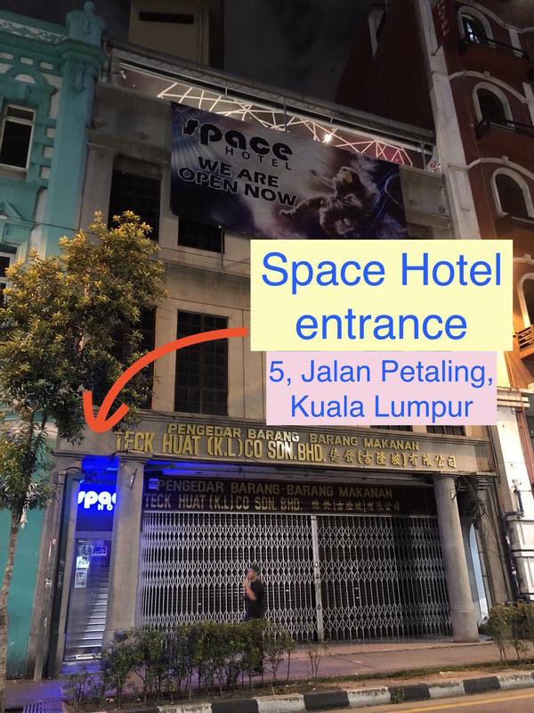 HOSTEL - Space Hotel @ China Town Kuala Lumpur