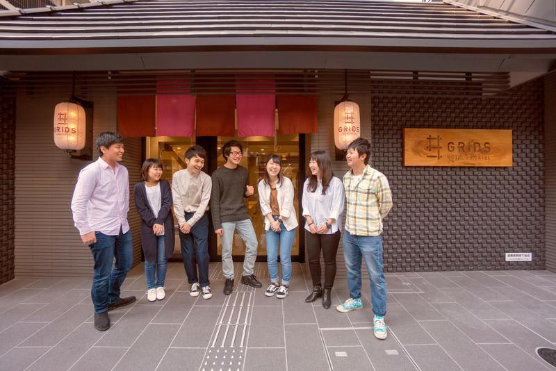 HOSTEL - Grids Kyoto Shijo Kawaramachi Hotel & Hostel