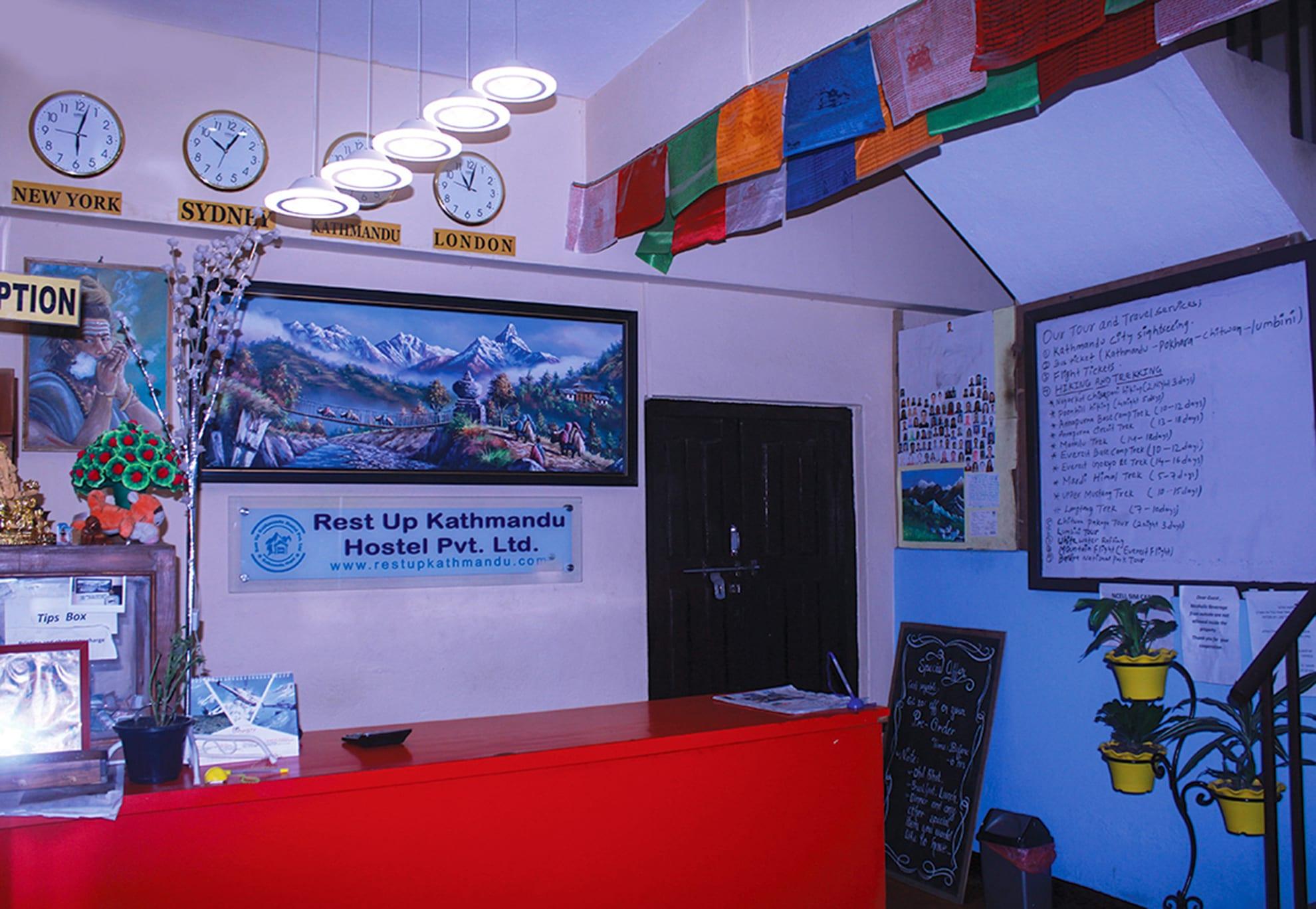 HOSTEL - Rest Up Kathmandu Hostel
