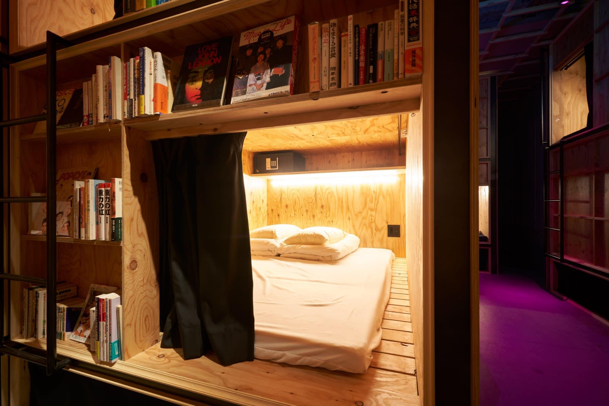 HOSTEL - Book And Bed Tokyo Shinjuku