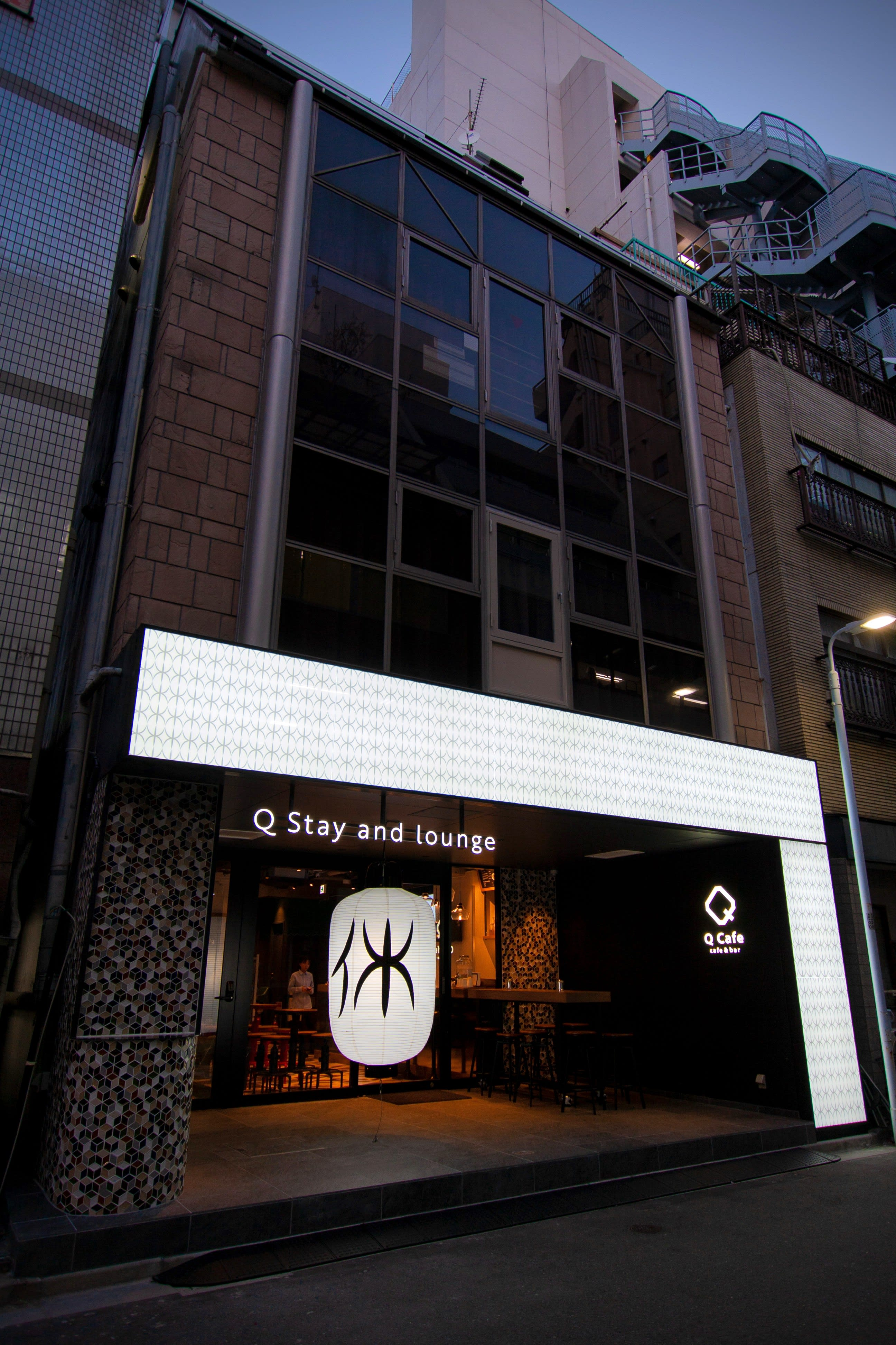HOSTEL - Q Stay and lounge Ueno