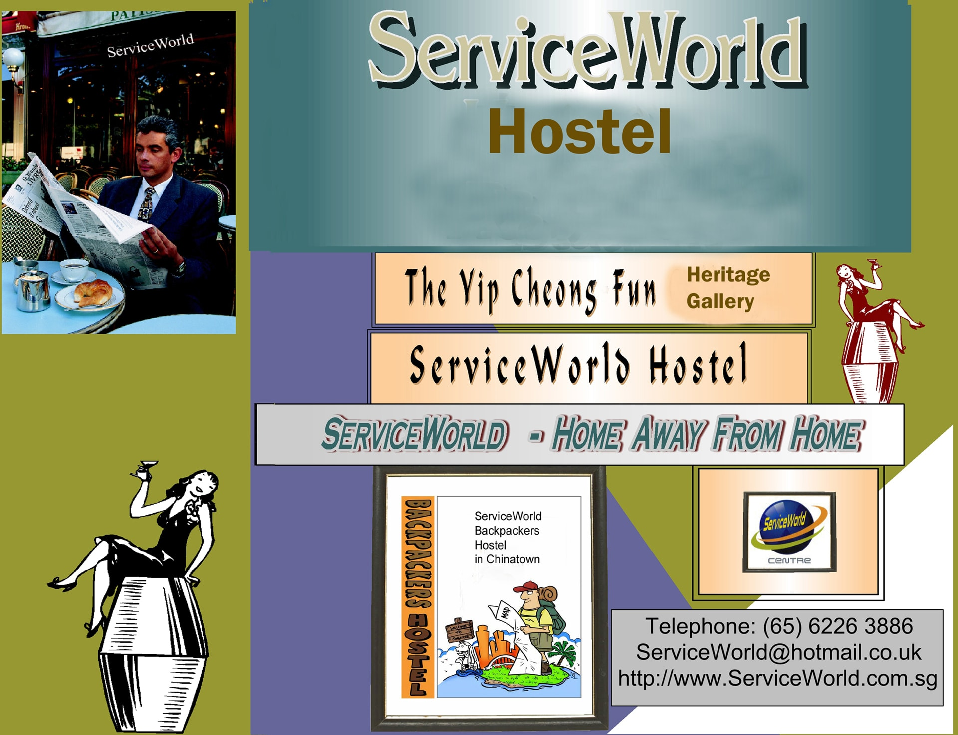 Service World Chinatown (Chin Swee) Hostel