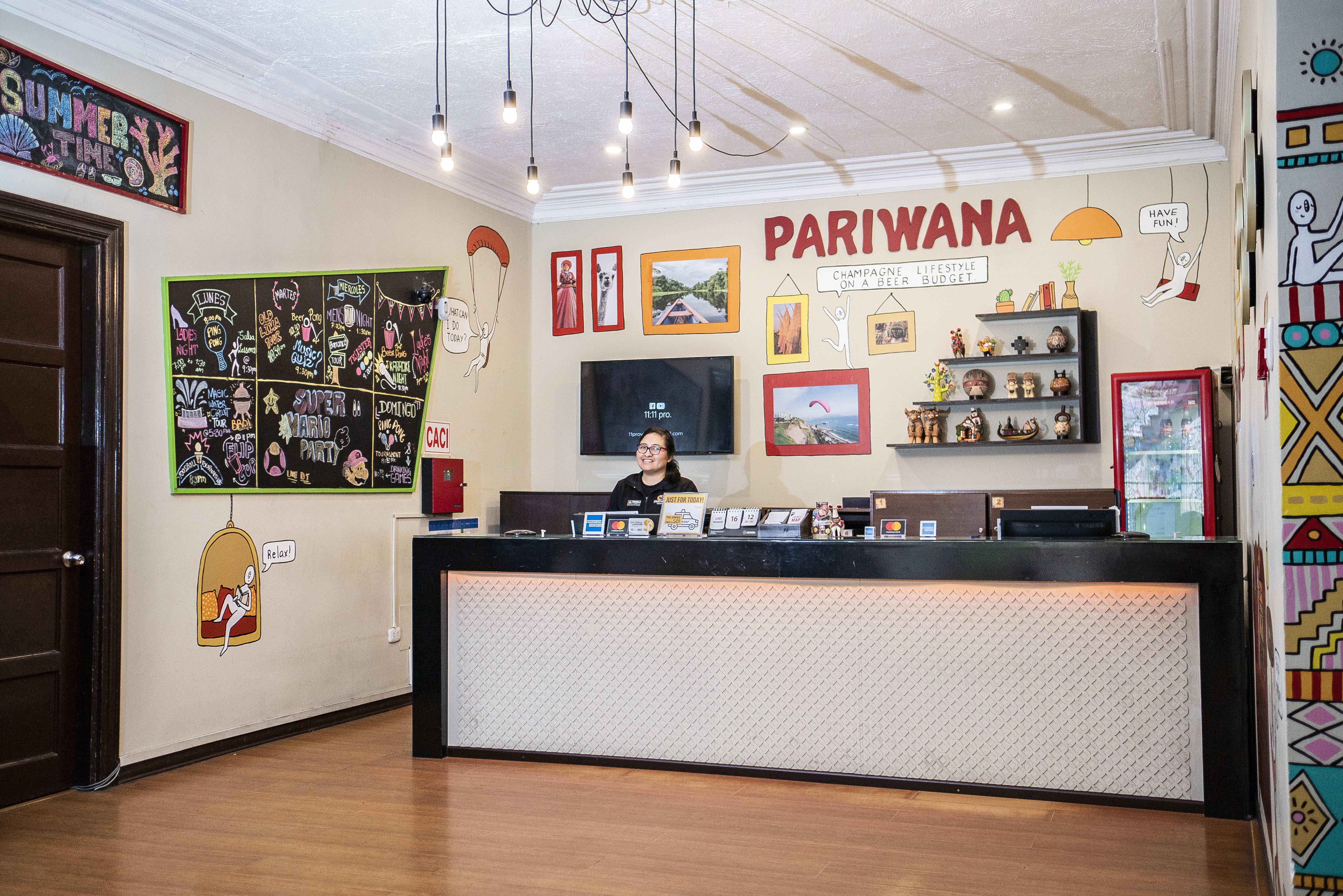 HOSTEL - Pariwana Hostel Lima