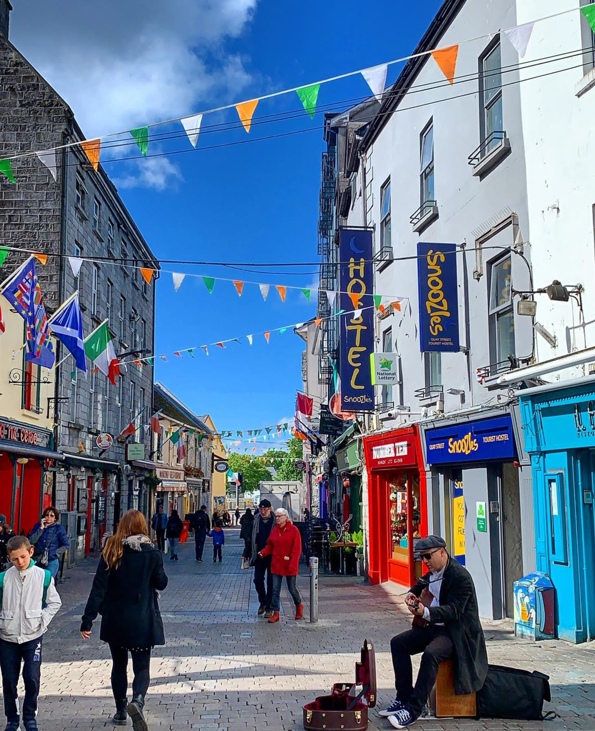 Barnacles Quay Street Galway City