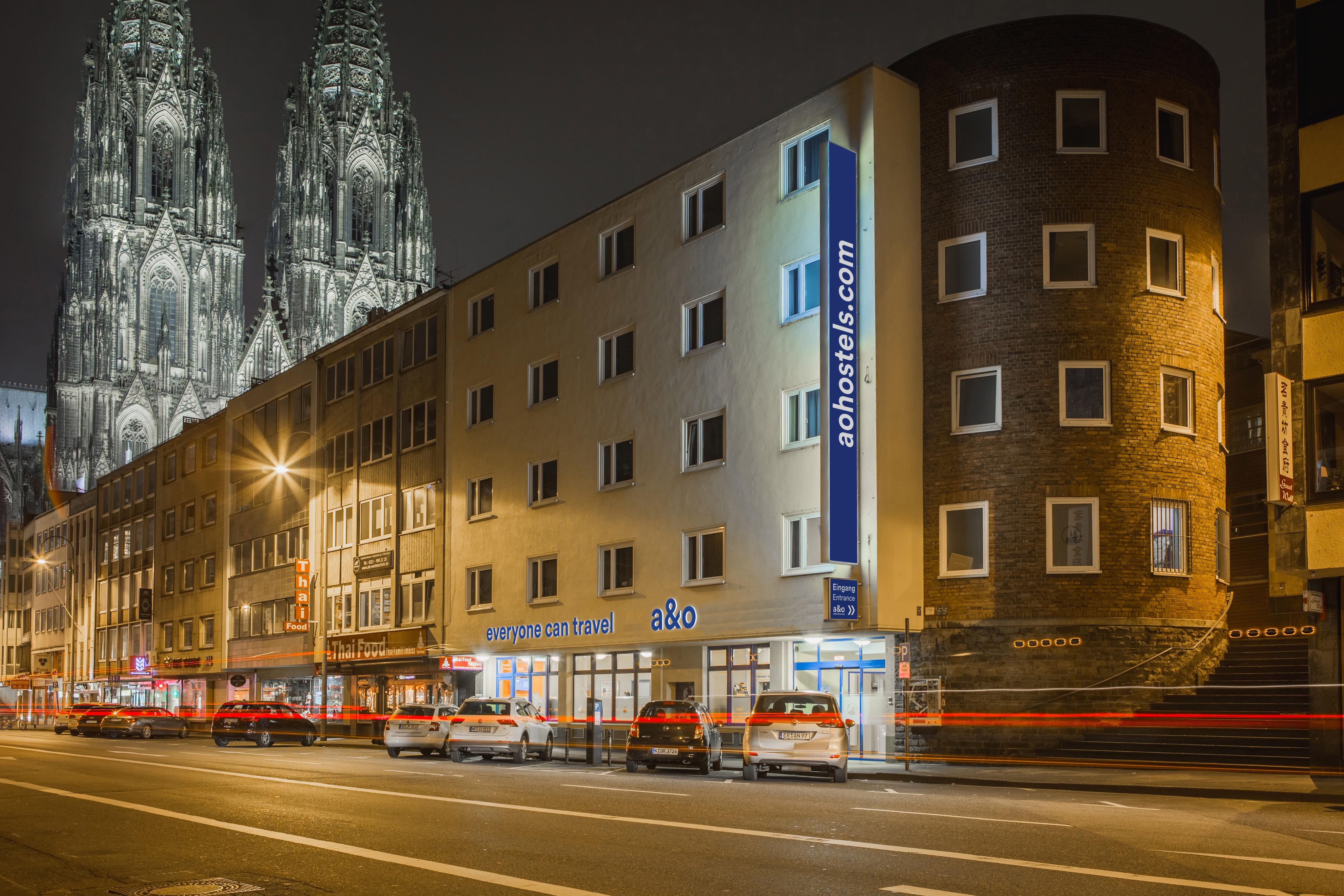 HOSTEL - a&o Köln Dom