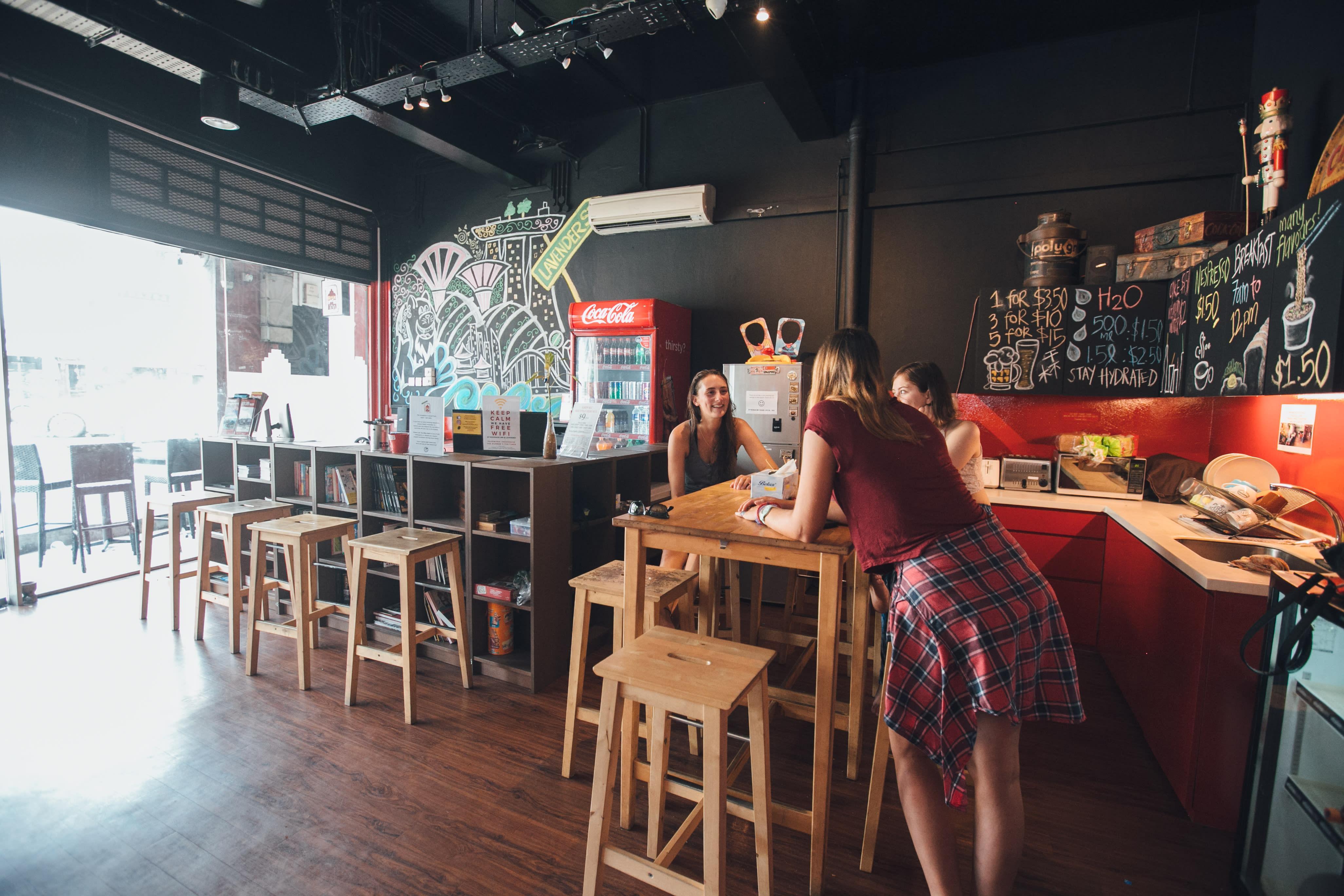 HOSTEL - Rucksack Inn @Lavender Street (Green Kiwi)