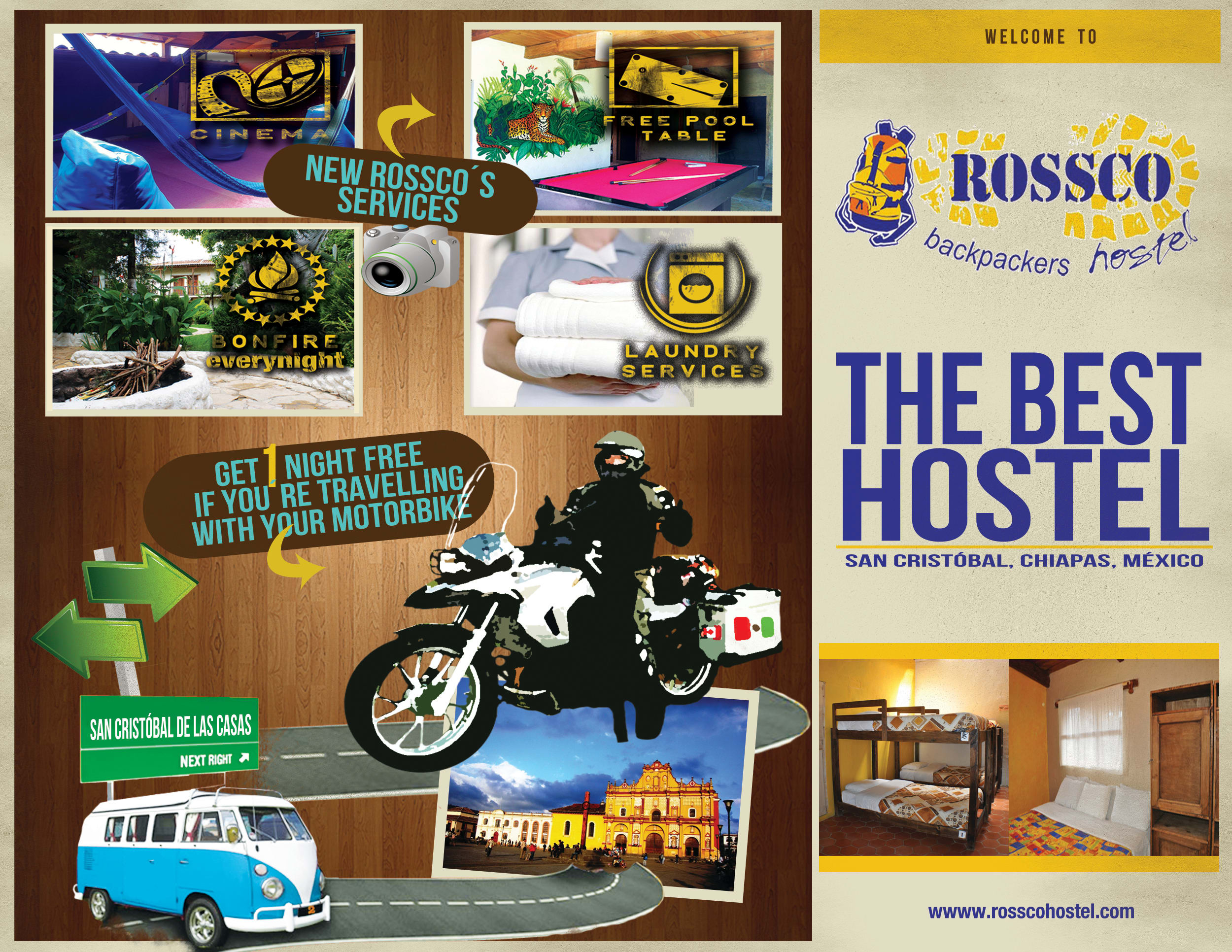 HOSTEL - Rossco Backpackers Hostel
