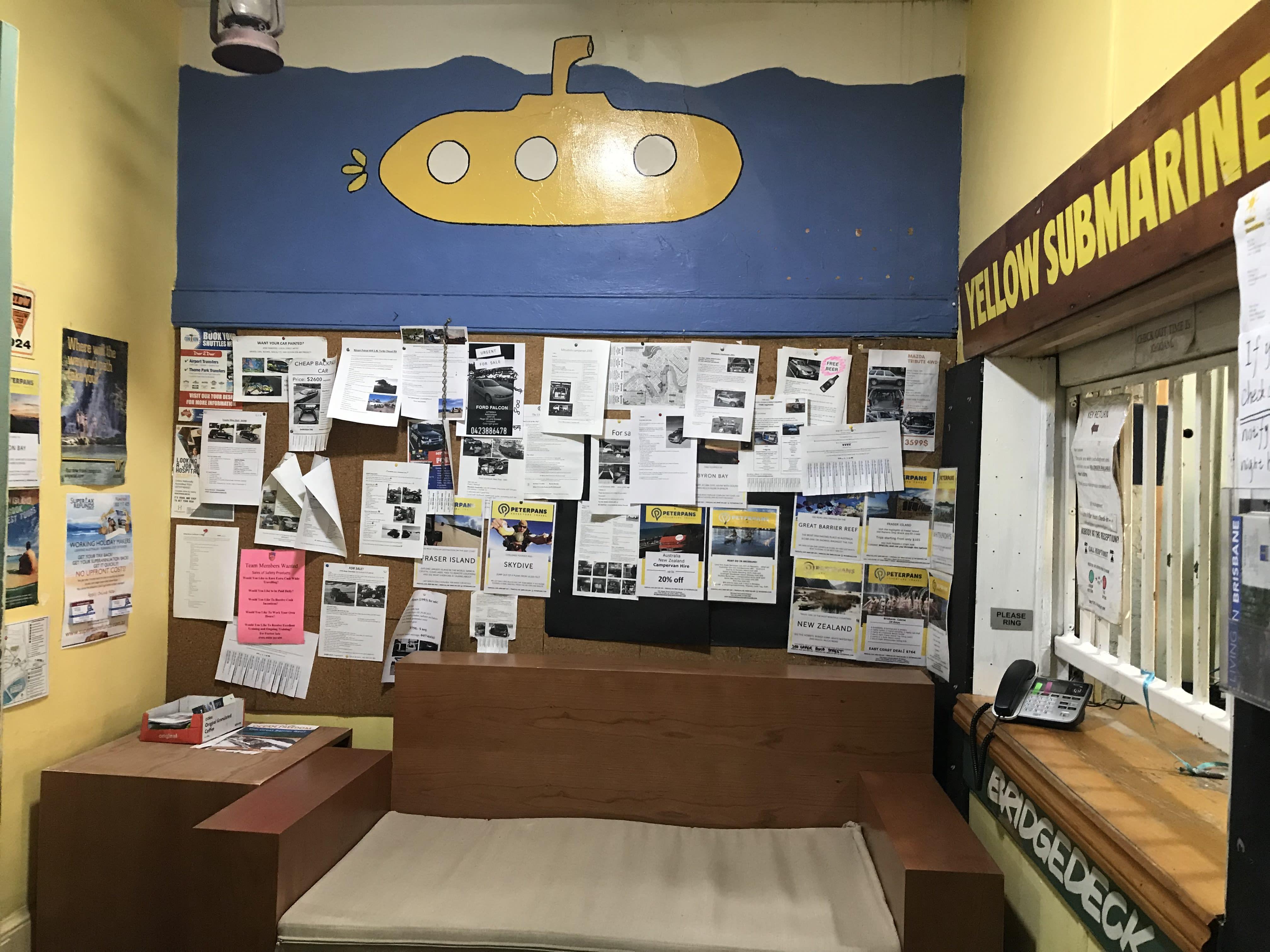 HOSTEL - Yellow Submarine Backpackers