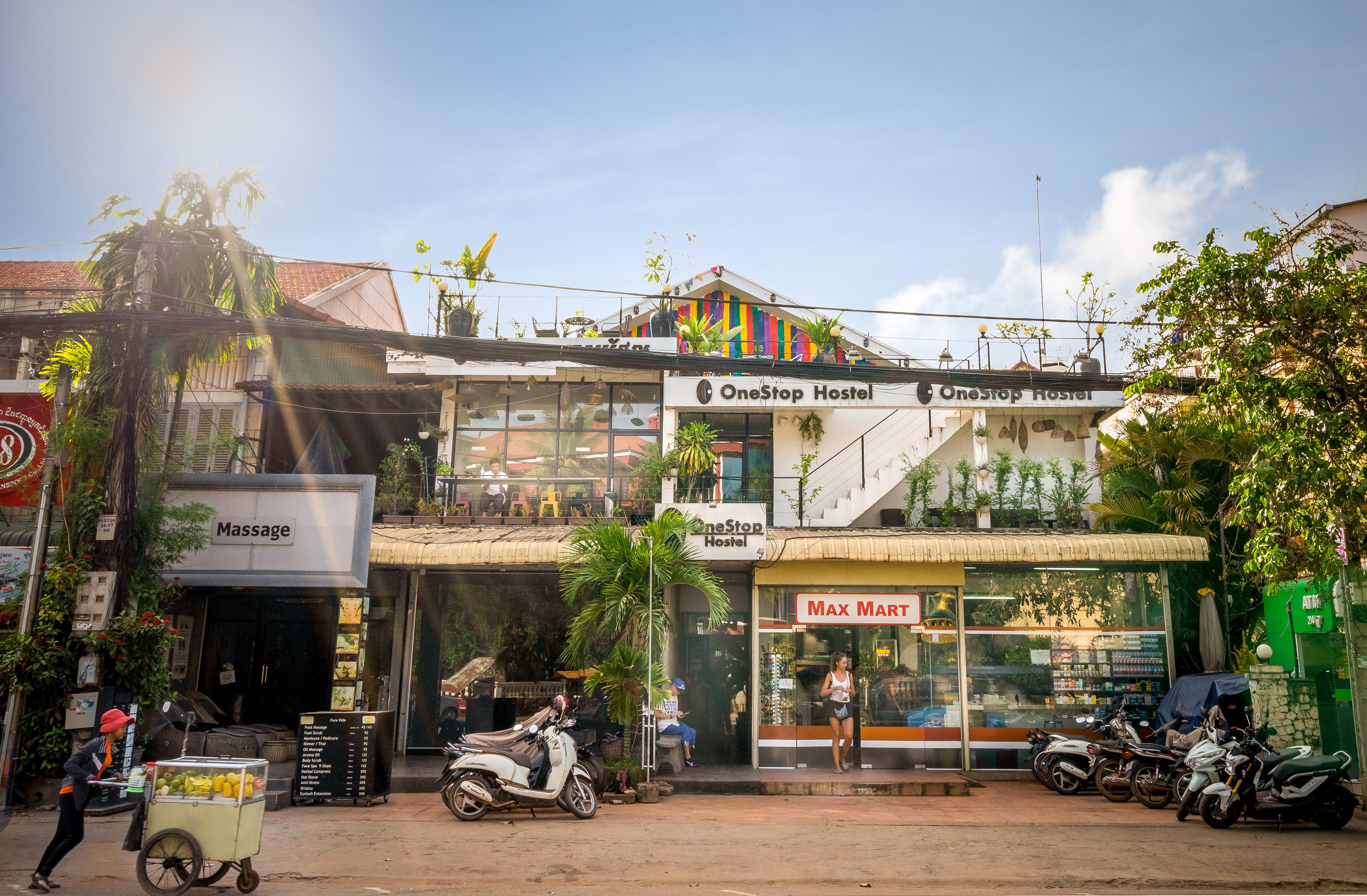 HOSTEL - One Stop Hostel Siem Reap @ Pub Street