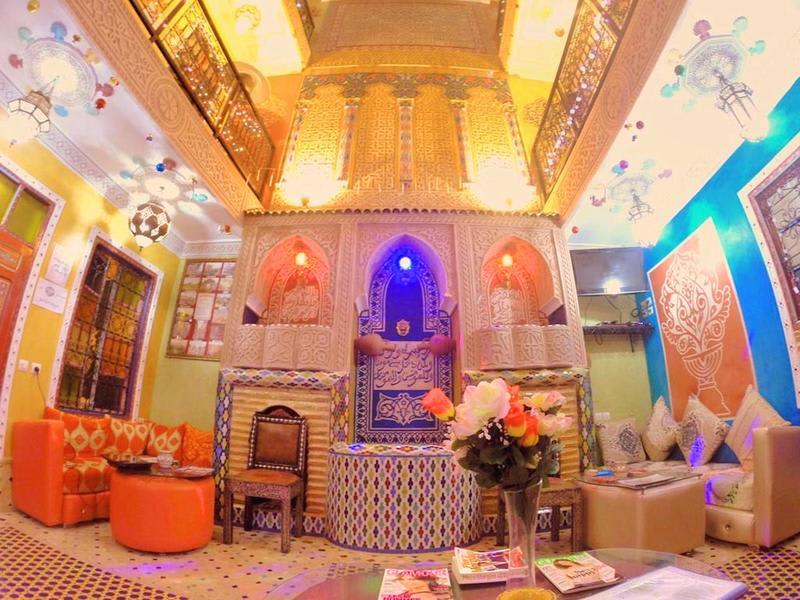 HOSTEL - Riad Jennah Rouge