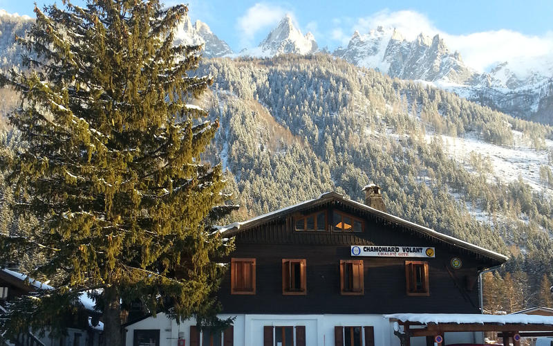 Hostel-Chalet-Gite The Chamoniard Volant