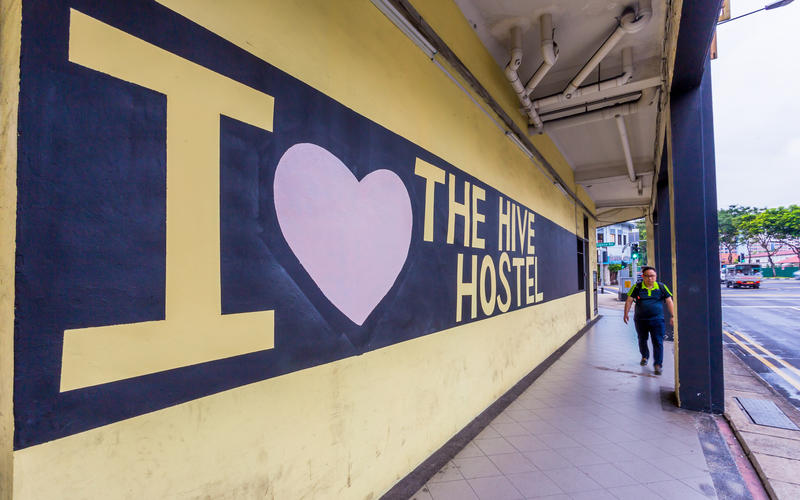The Hive Singapore Hostel
