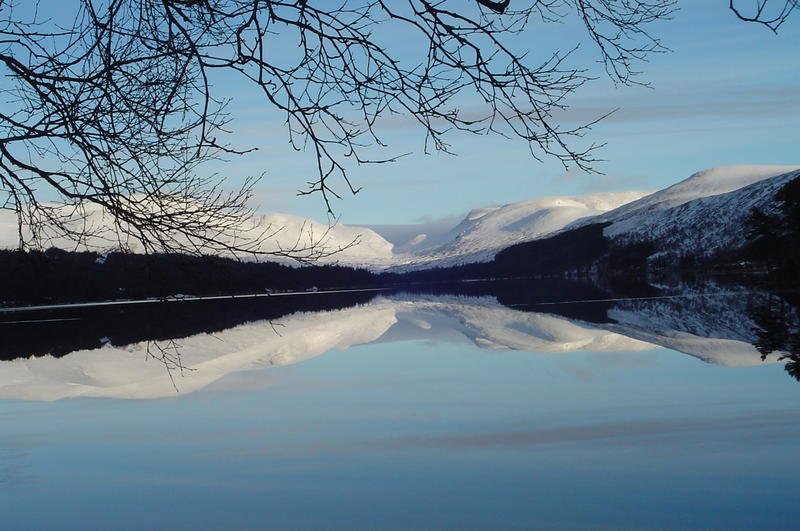 Loch Ossian Youth Hostel