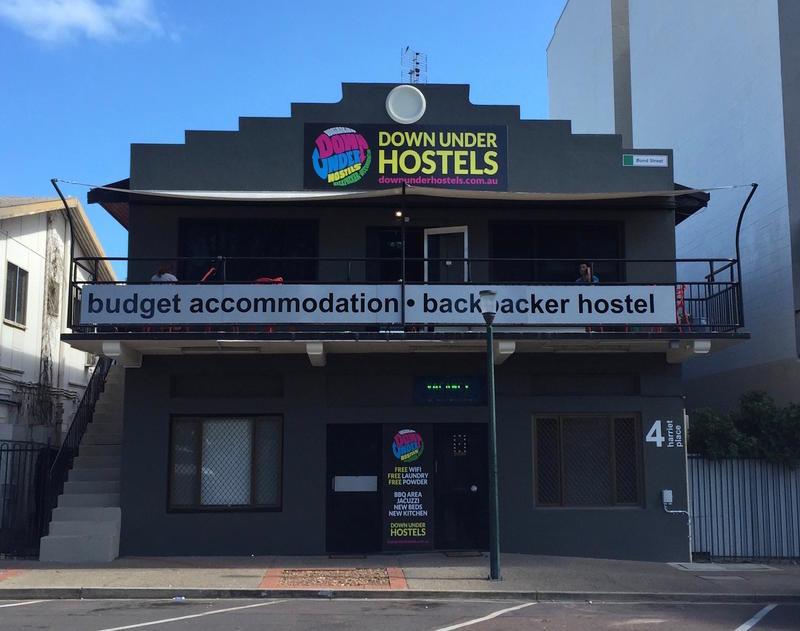 Down Under Hostels on Harriet