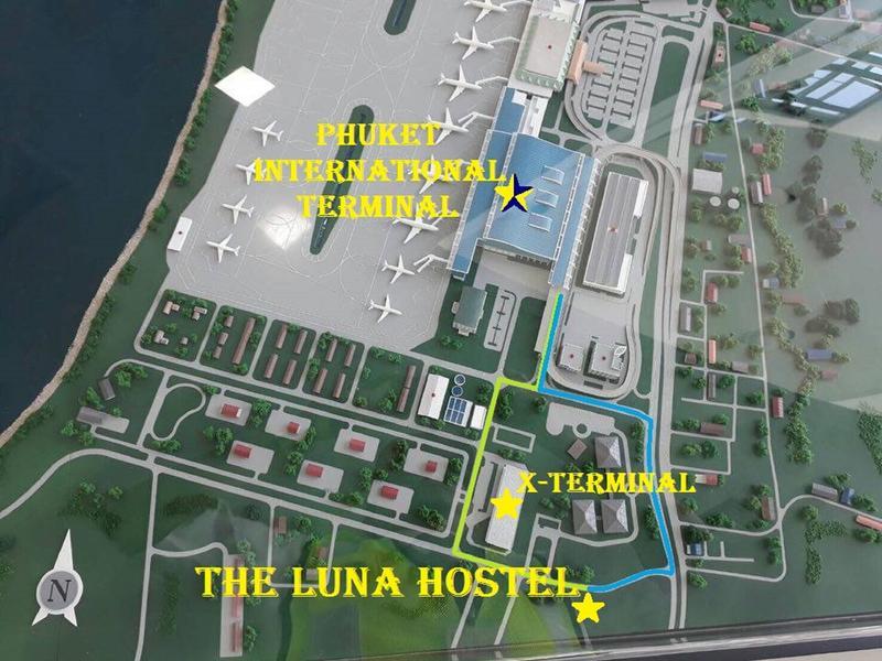 HOSTEL - The Luna Hostel Phuket Airport