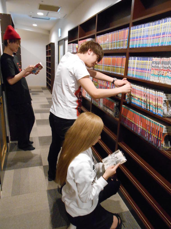 Comics&CapsuleHotel COMICAP Sapporo Susukino