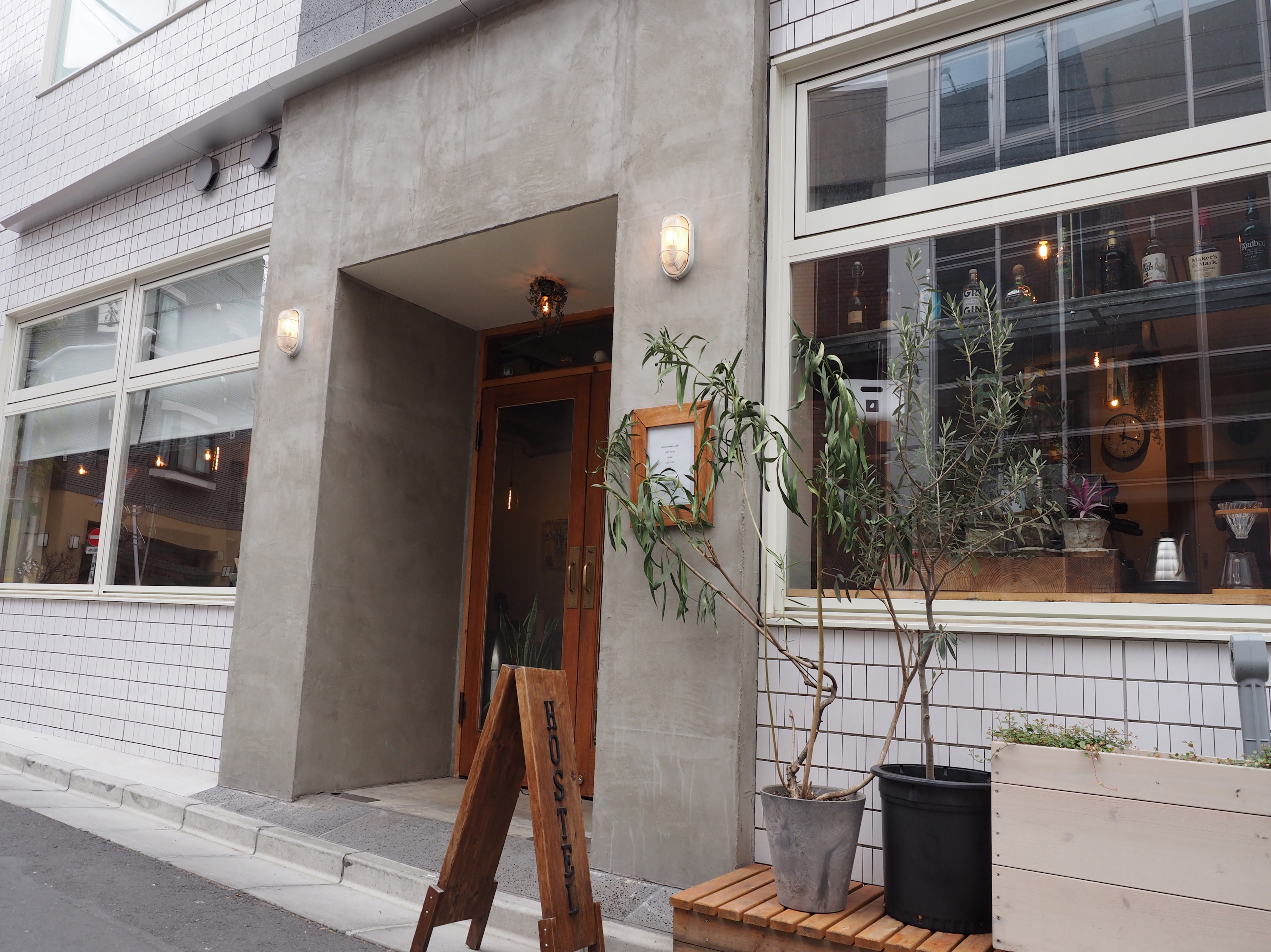 Almond hostel & cafe Shibuya