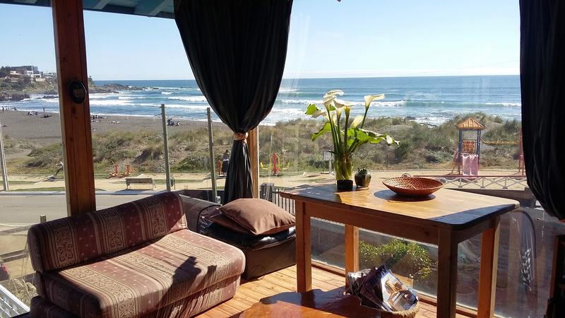 Pichilemu Hostel Surfers View