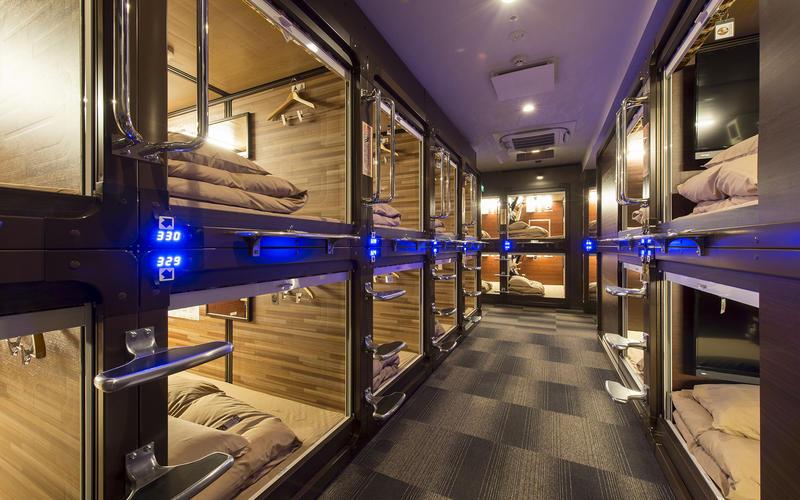 Capsule Hotel Anshin Oyado Shinbashi Shiodome