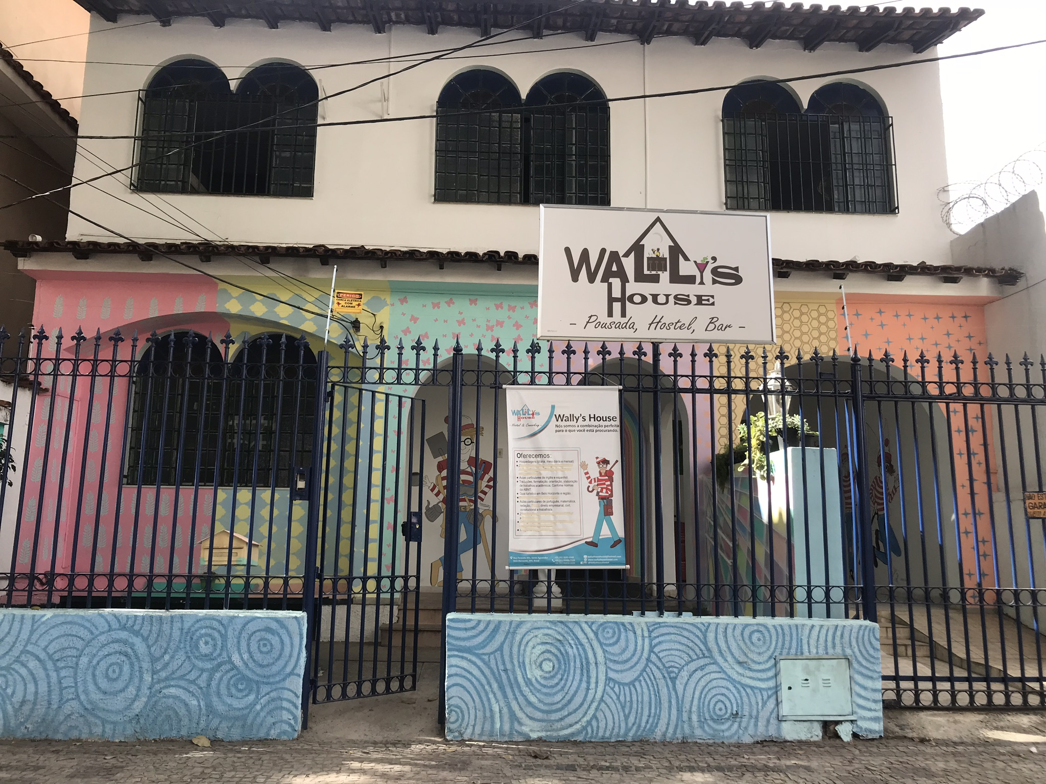 Wallys House Hostel, Pousada e Bar