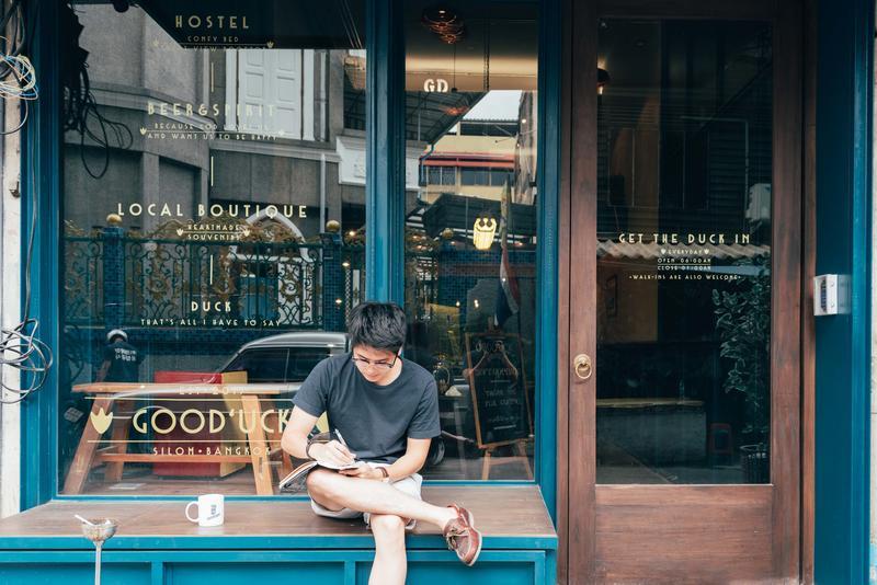 Good' uck hostel at Silom Bangkok