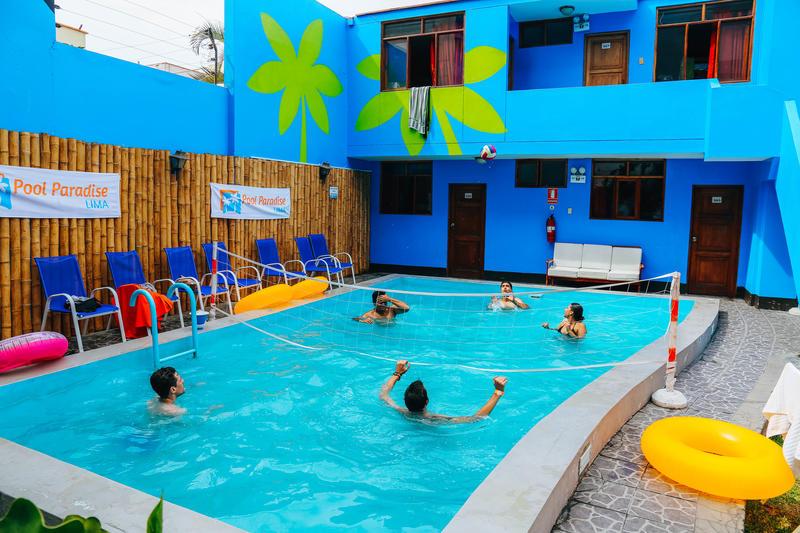 HOSTEL - Pool Paradise Lima