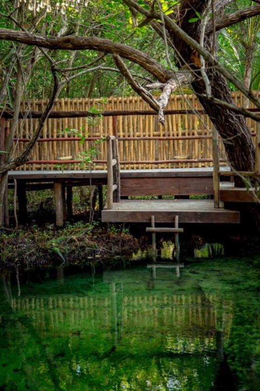 Bambu Gran Palas and Cenote