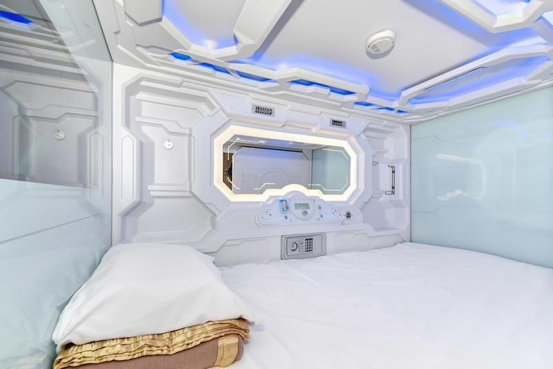 HOSTEL - The SpaceQ Capsule Hotel