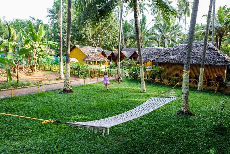 Savithri Inn Bamboo Cottages