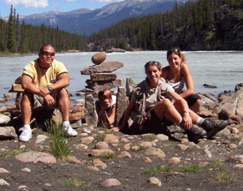 HI Athabasca Falls