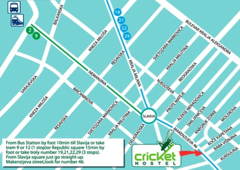 Cricket hostel