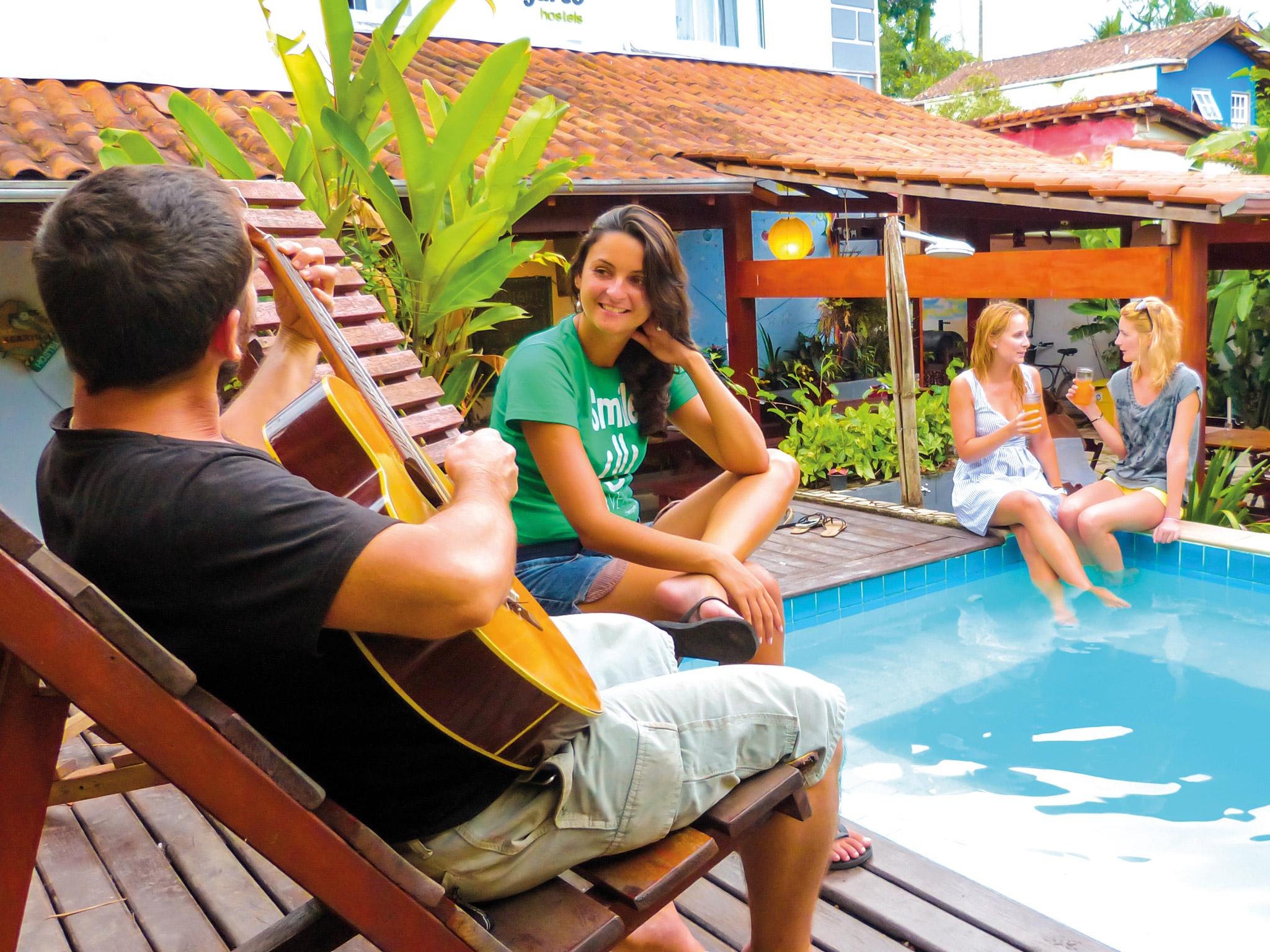Che Lagarto hostel Paraty
