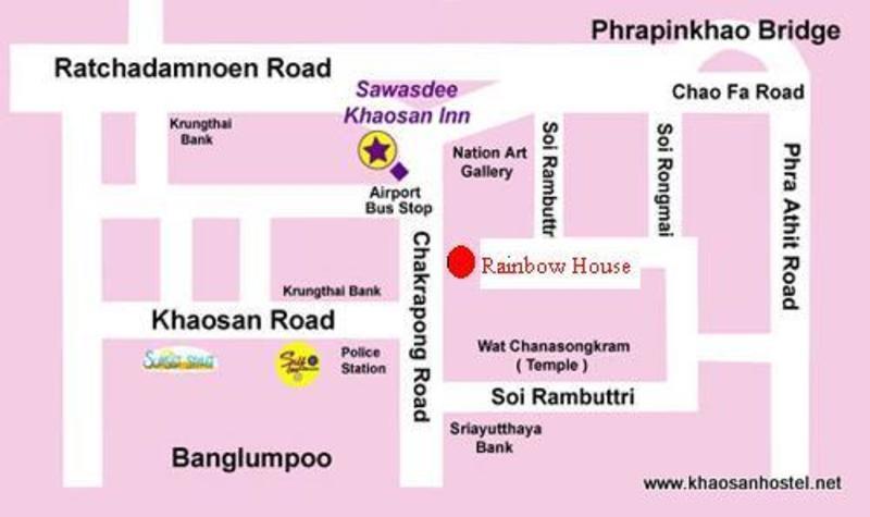 Khaosan Road Rainbow Hostel