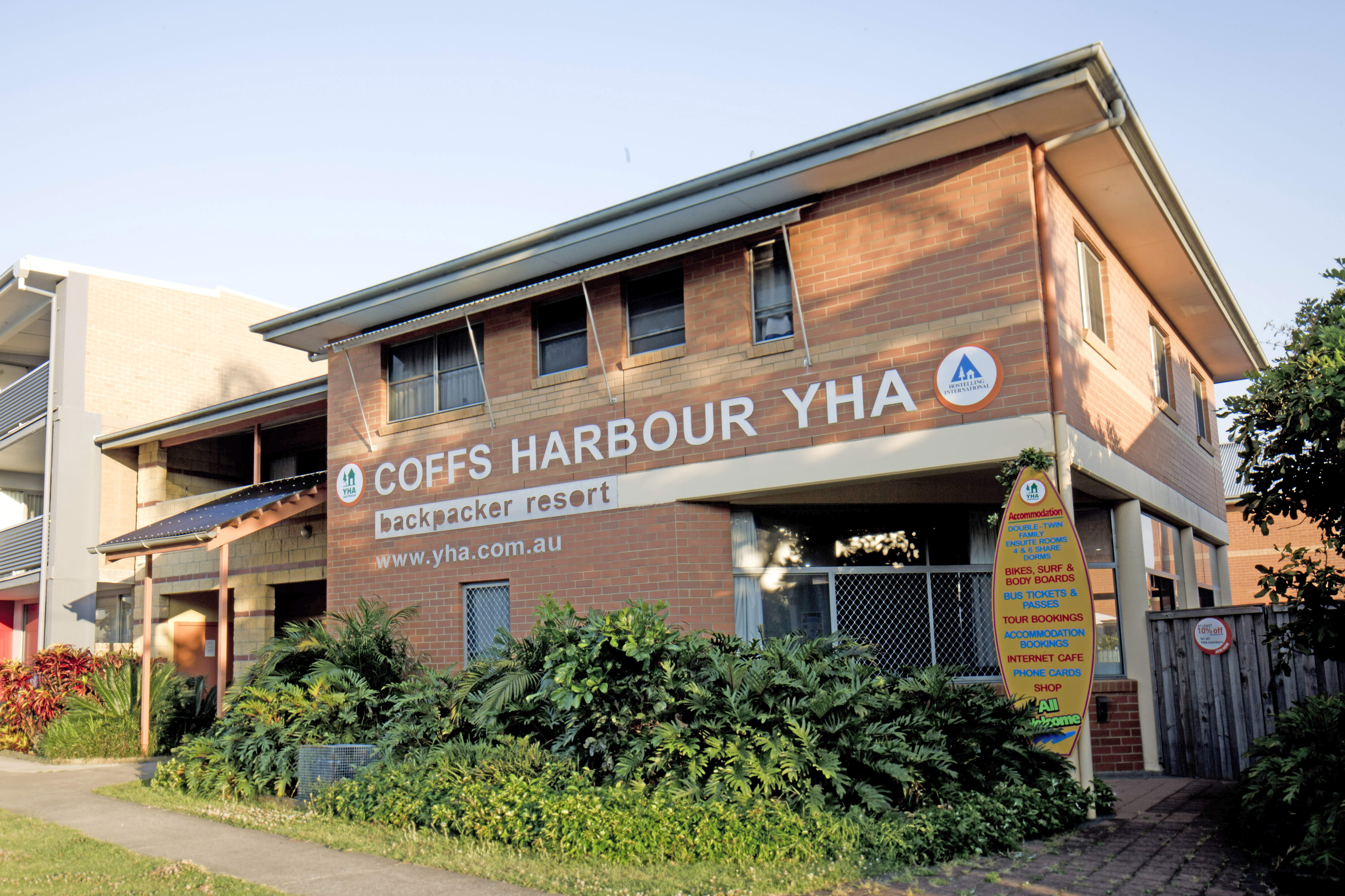 Coffs Harbour YHA Backpackers Resort