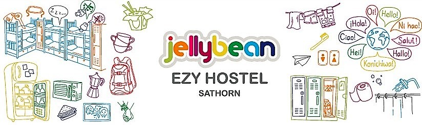 HOSTEL - Jellybean Ezy Hostel Sathorn