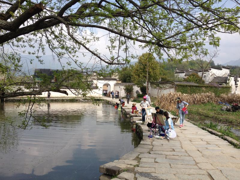QingHeYue Hostel Hongcun Village