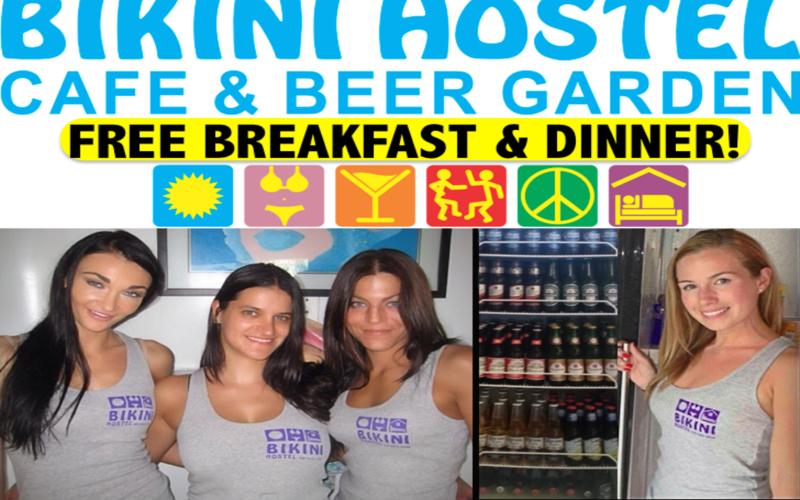 Miami Beach Bikini Hostel Cafe & Beer Garden