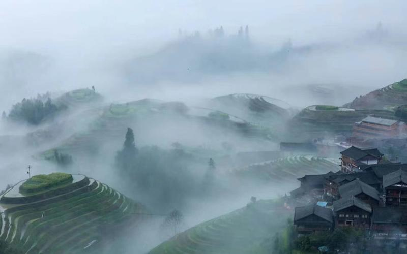 Dazhai Dragon's Den Hostel in Rice Terraces
