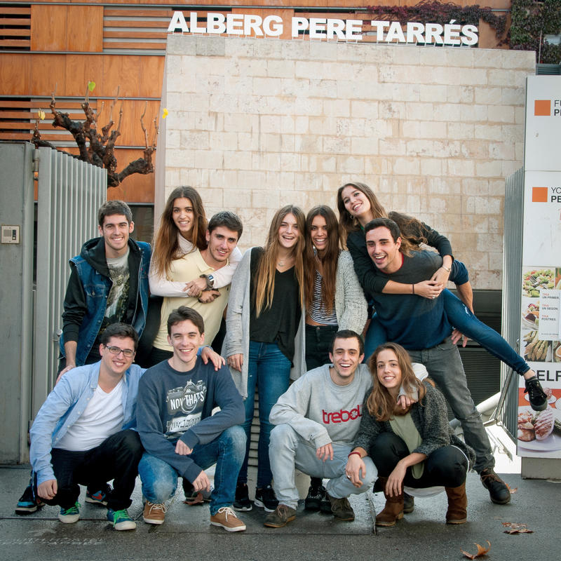 Barcelona Pere Tarres Youth Hostel
