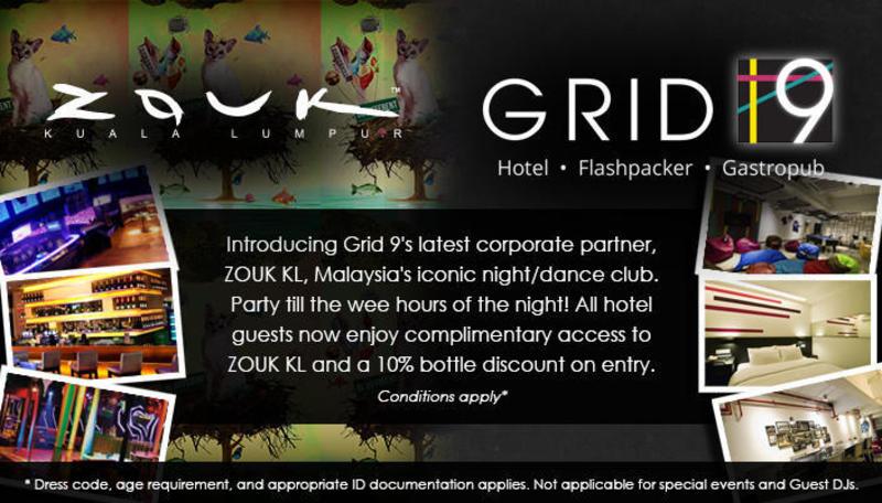 Grid 9 Hotel