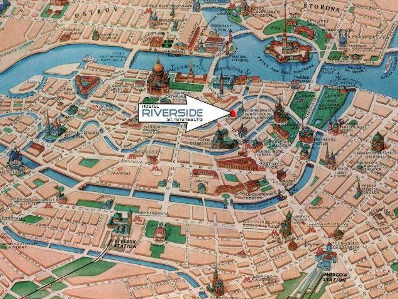 HOSTEL - RiverSide Hostel St Petersburg