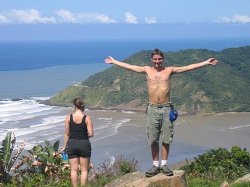 Jungle Monkey and The Island Backpackers Lodge