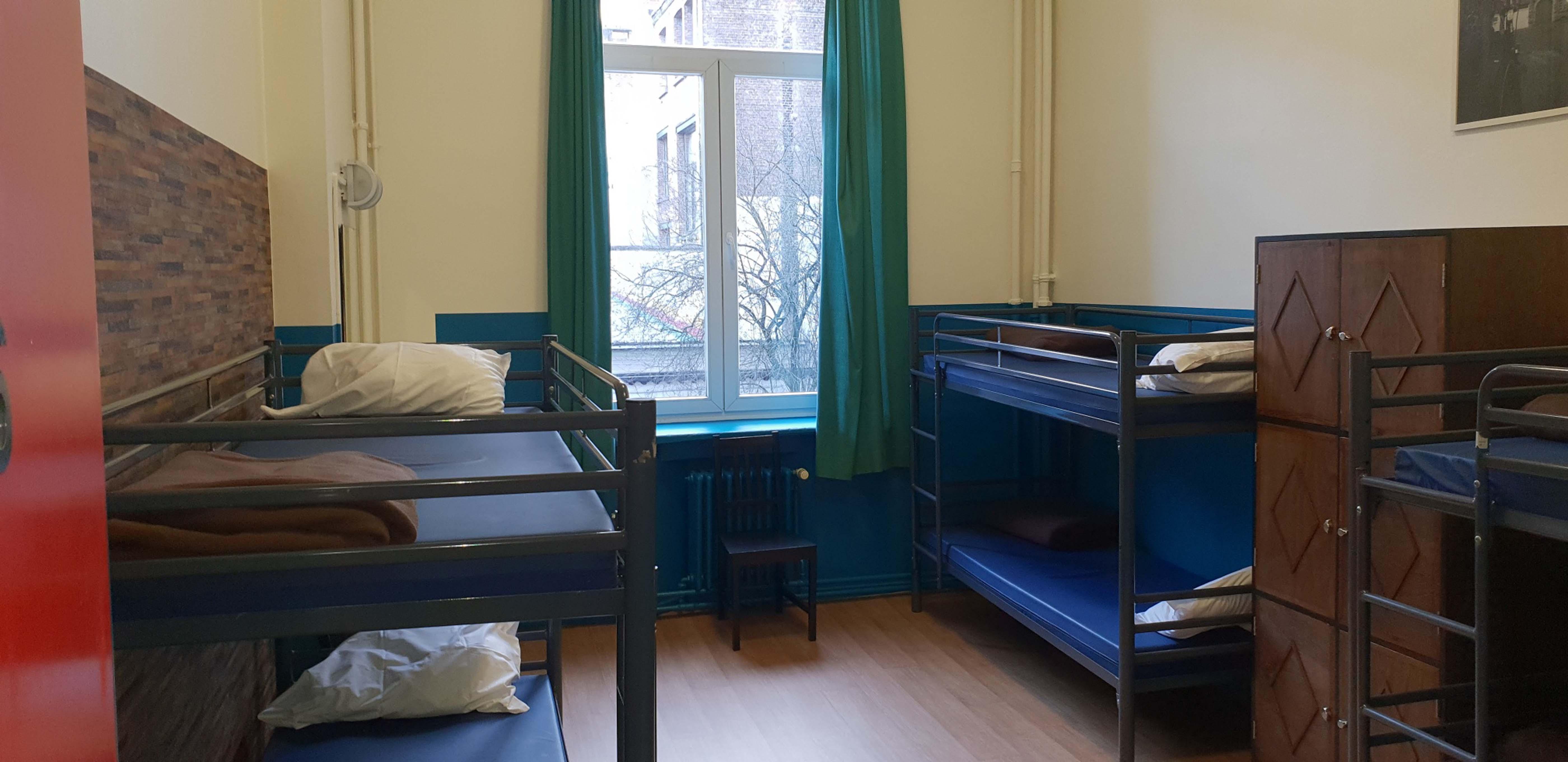 Map Of Youth Hostels In Ireland.Youth Hostel Van Gogh Chab In Brussels Belgium Hostel