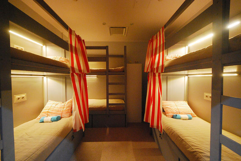 High level hostel